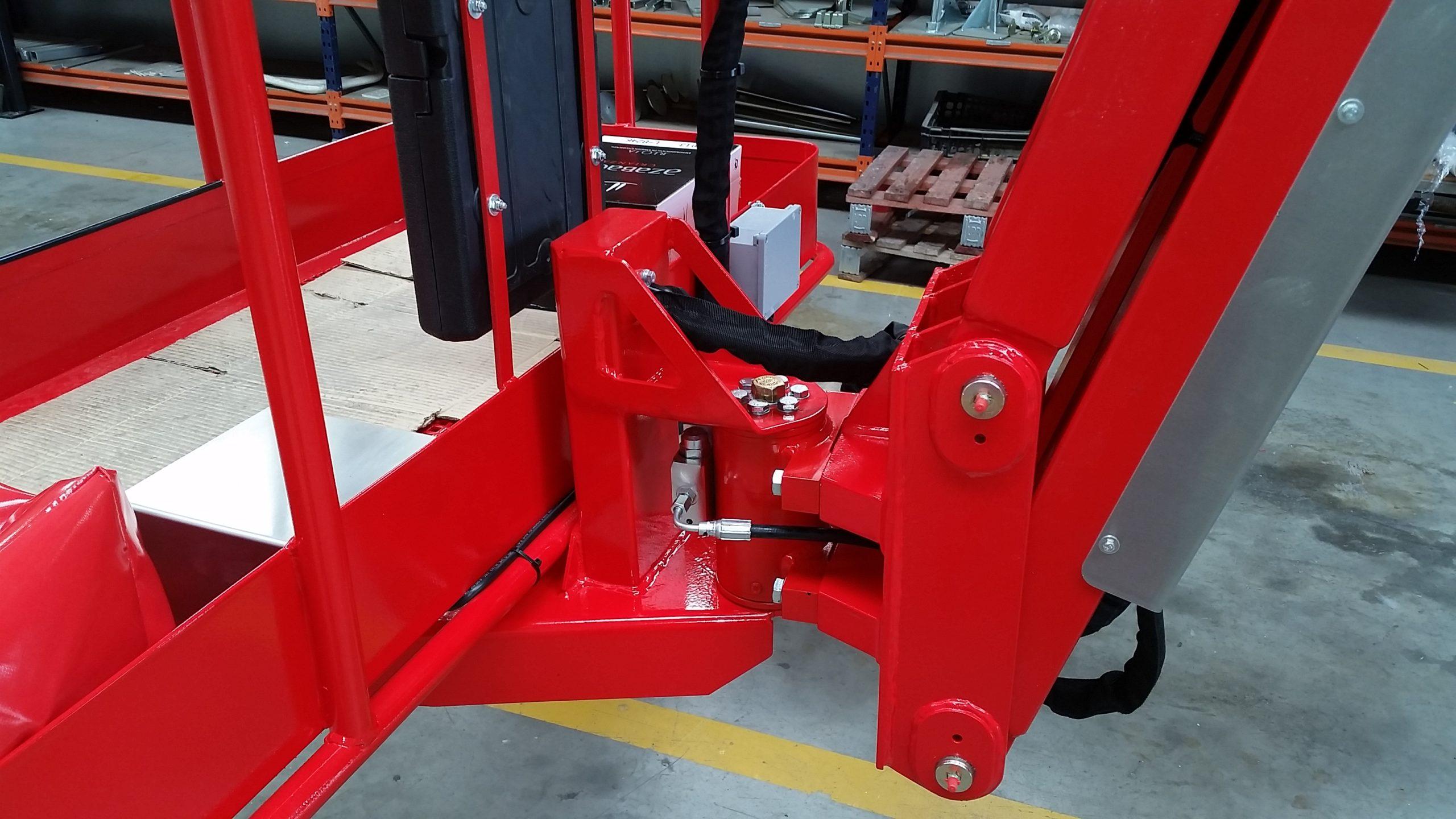 Actuadores hidráulicos rotativos HKS y sus aplicaciones: Matilsa