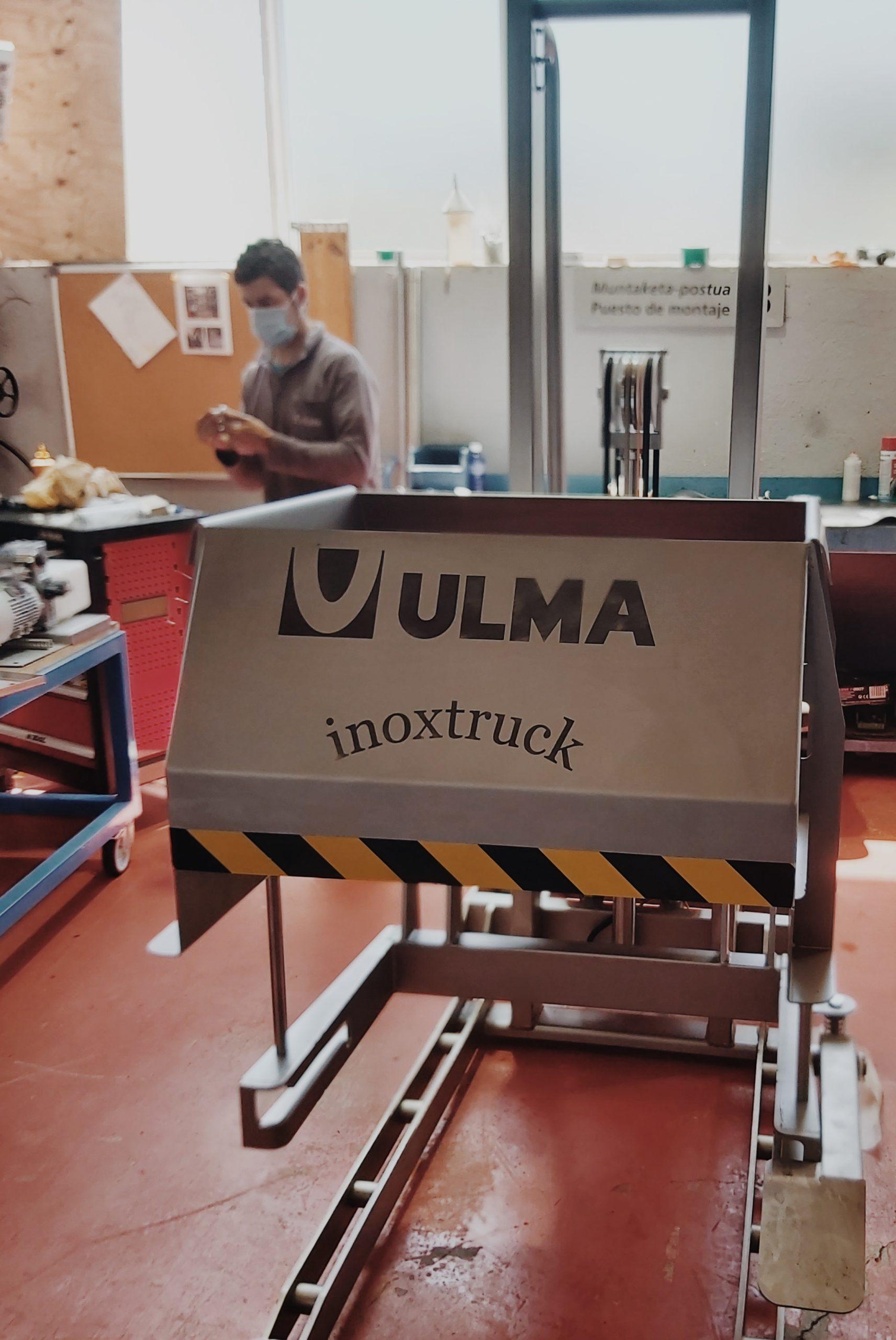 Actuadores hidráulicos rotativos HKS y sus aplicaciones: ULMA