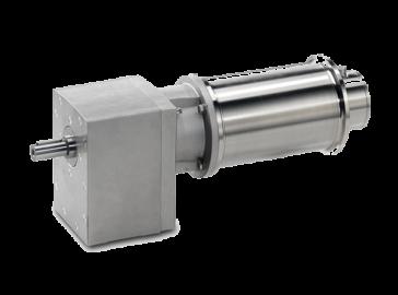 Motoreductor helicoidal INOX